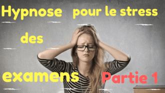 hypnose stress examen